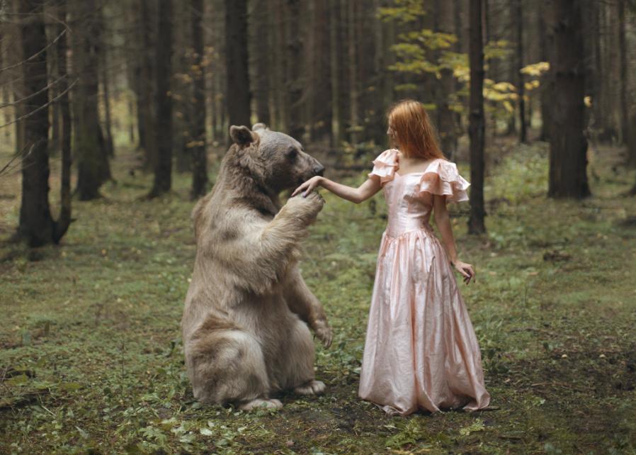 Для незамужней девушки увидеть во сне медведя— к скорому замужеству