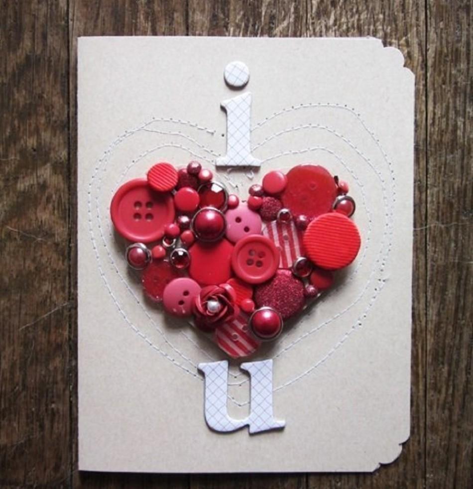 С днем всех влюбленных открытки своими руками