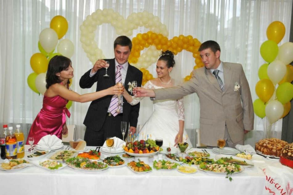Слова и тосты на свадьбу