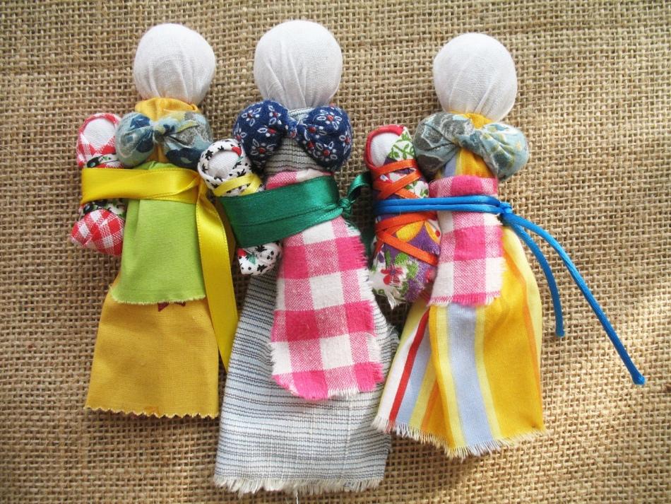 kukli-motanki Народная кукла своими руками из ткани: мастер-класс с фото и видео