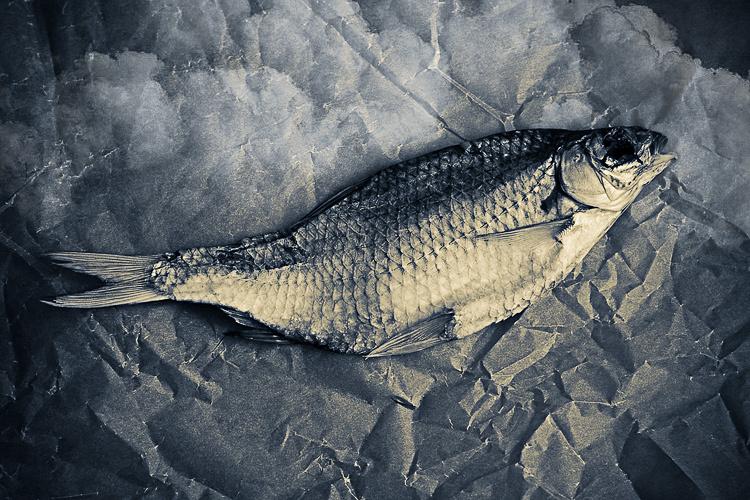 Сушка вяленой рыбы