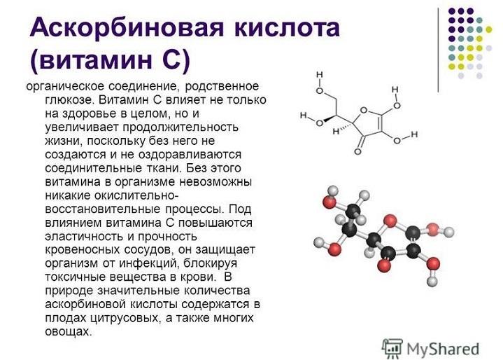 Влияние аскорбиновой кислоты на сердце и организм в целом