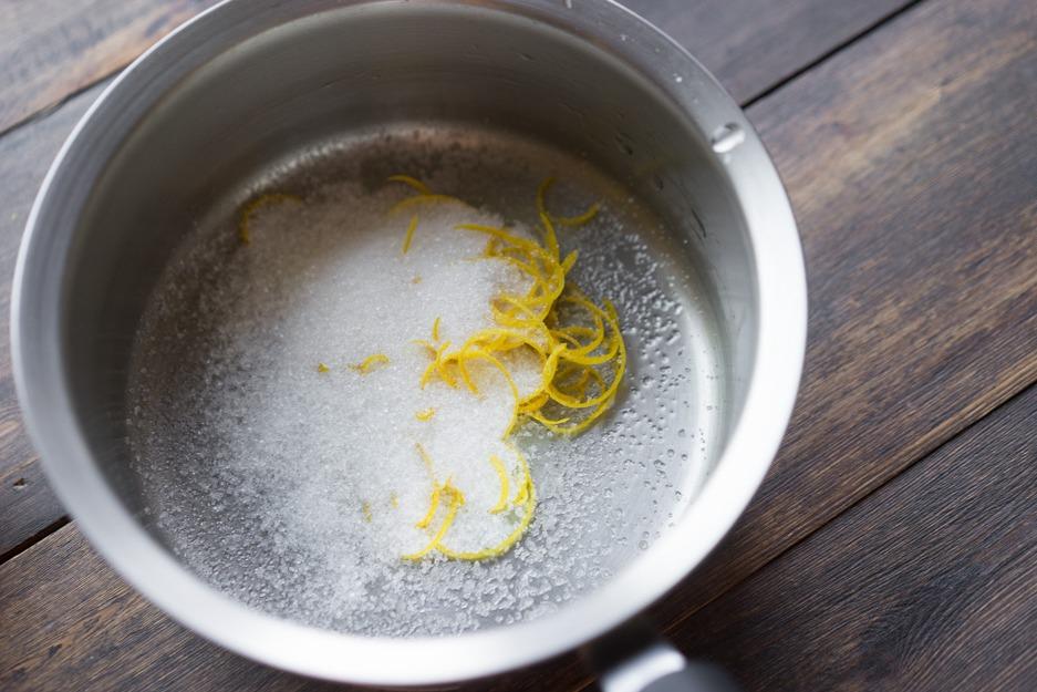 Ингредиенты лимонного соуса