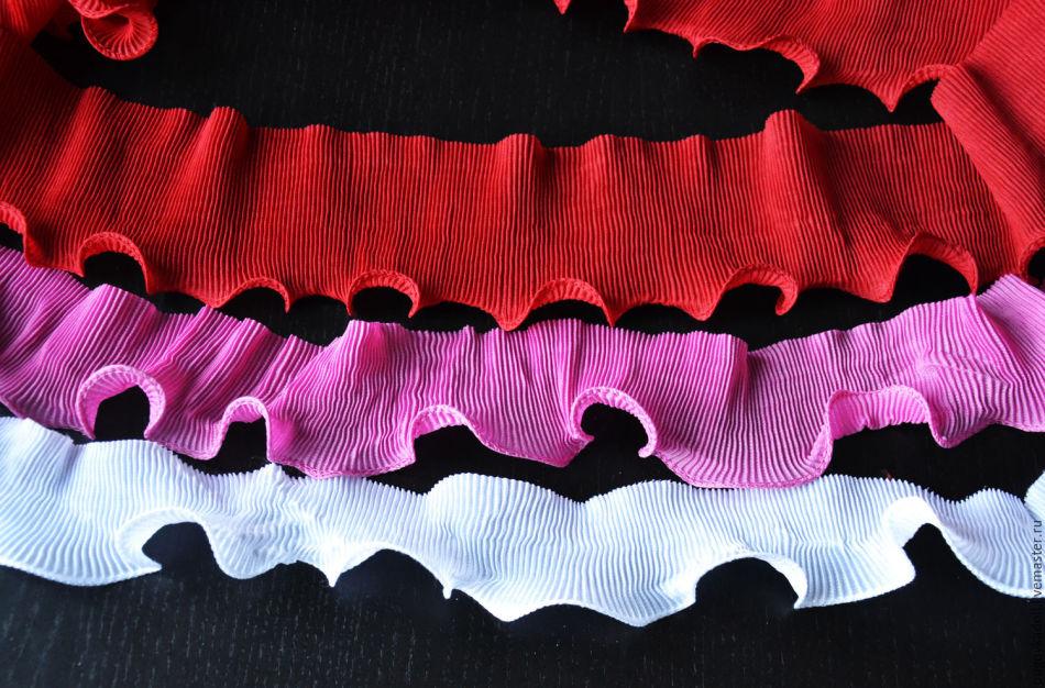 gofrirovannie-lenti Вышивка лентами для начинающих. Схемы цветов