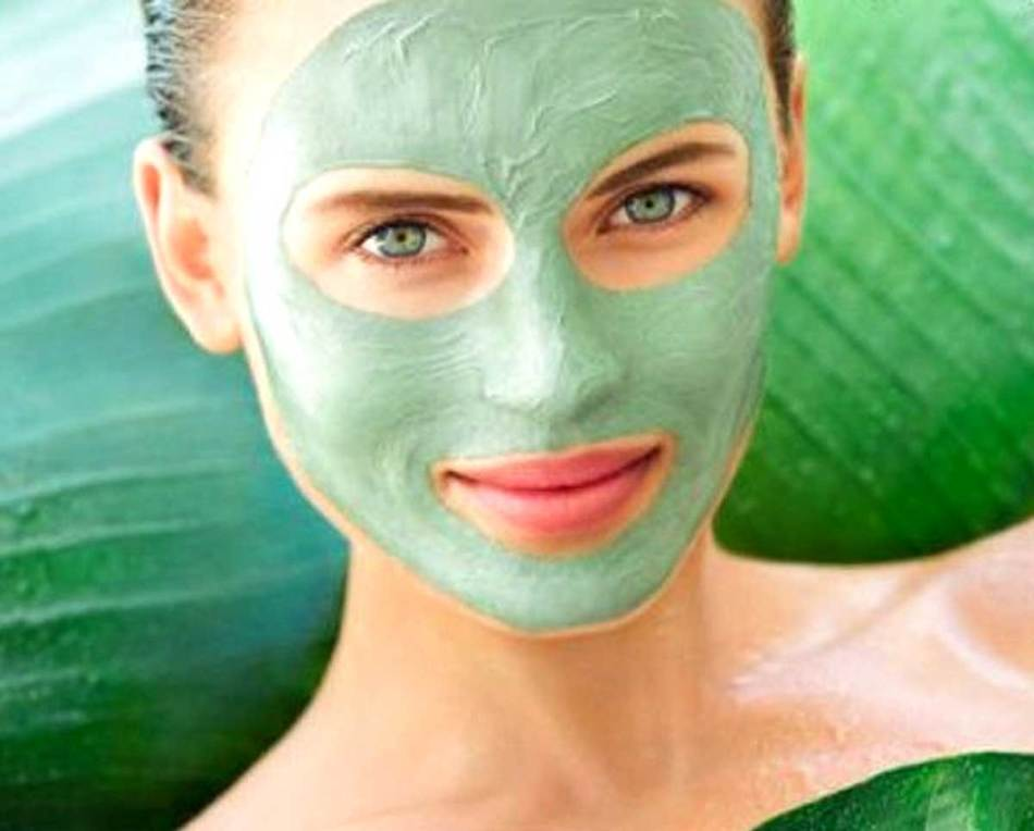 Маски для лица из зелени и трав