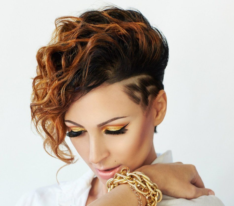 estestvennoe-ombre-na-korotkoi-strizhke Омбре на короткие волосы: варианты окрашивания, фото. Омбре окрашивание на темные короткие волосы и блонд в домашних условиях: фото