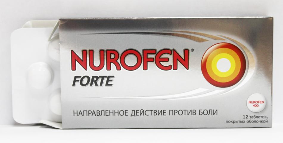 Нурофен - препарат против боли и температуры после тонзиллэктомии