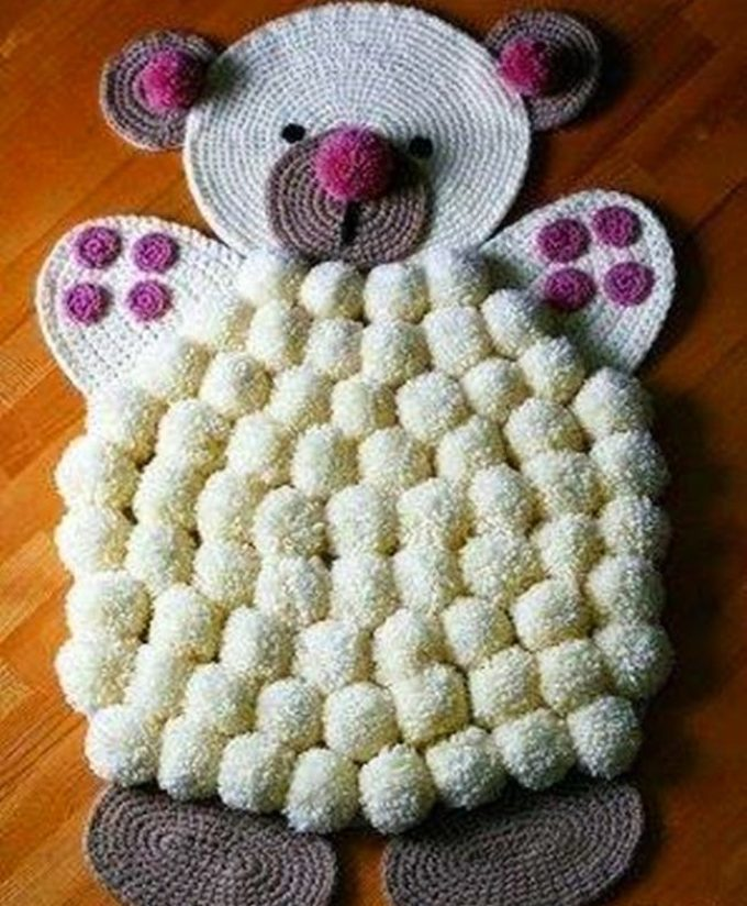 Коврик - мишка