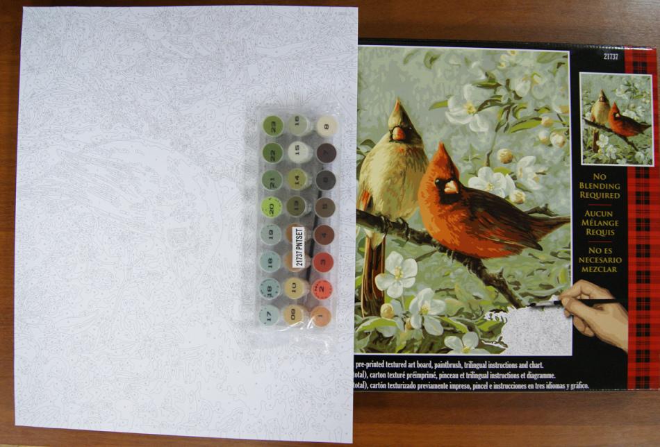 Набор живописи по номерам - подарок для души, которому многие девушки обрадуются