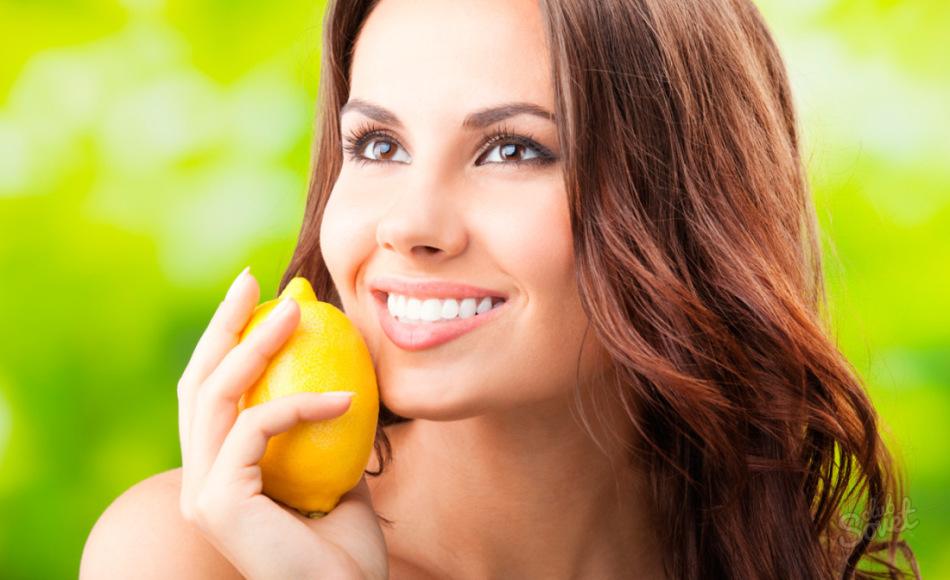 Маска для лица с бананом и лимонным соком