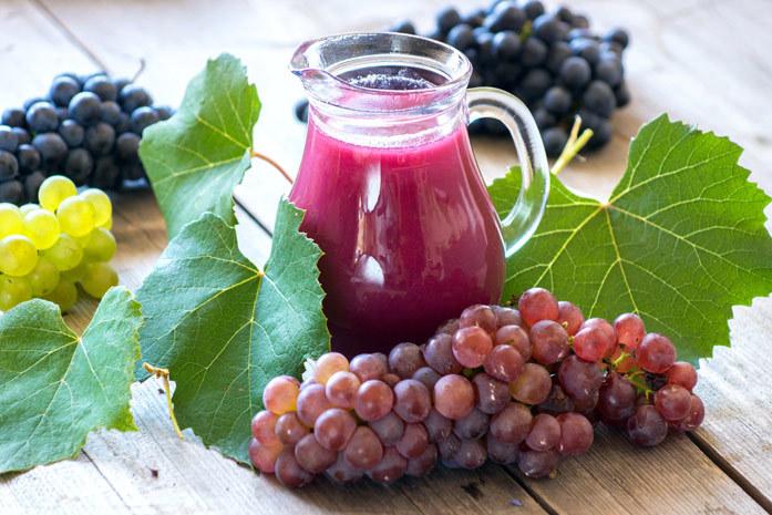 В винограде много полезных витамин