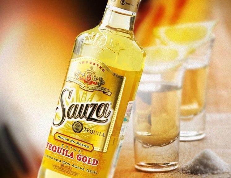 Как нужно пить и закусывать текилу sauza gold?