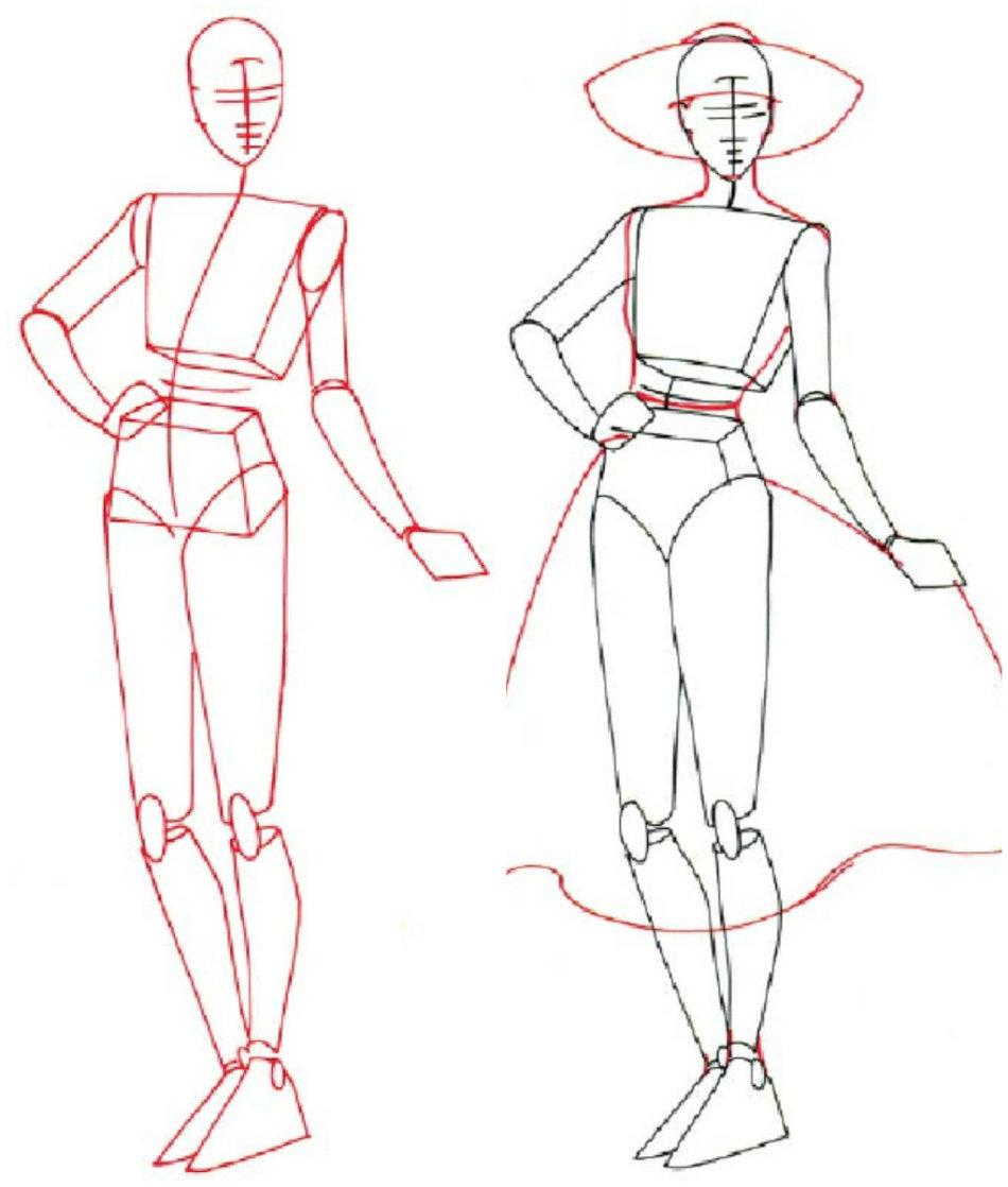 c824ab6a77e94ccdaf28005123b7012b Как нарисовать женское тело карандашом поэтапно || Как нарисовать женскую грудь мастер с описанием
