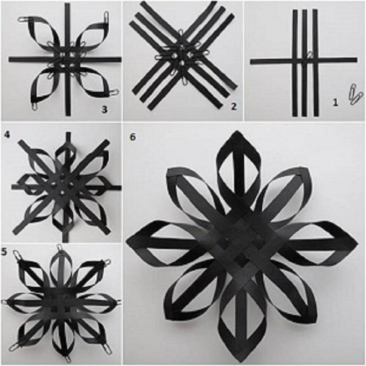 instrukciya-po-sozdaniyu-obemnoi-snezhinki-iz-polos-bumagi Как вырезать красивые снежинки из бумаги своими руками поэтапно? Как сделать объёмную снежинку оригами?