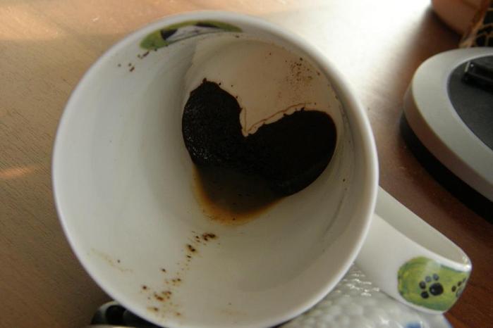 Сердце в кофейной гуще