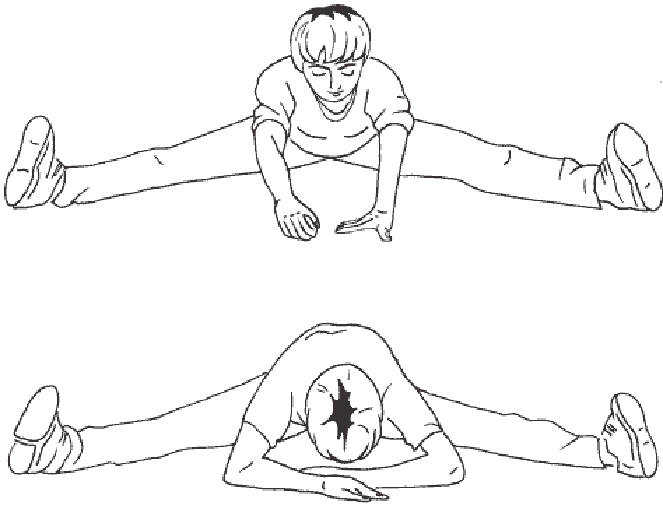 Упражнение на растяжку