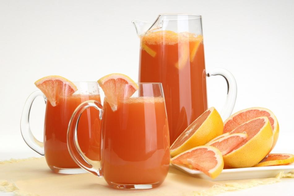 Жиросжигающий напиток с грейпфрутом