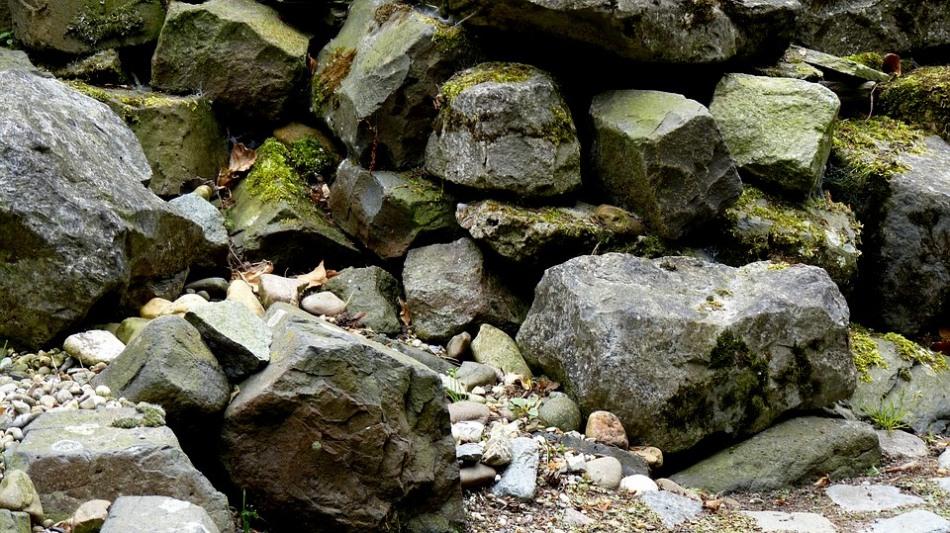 Камни, из которых можно соорудить альпийскую горку