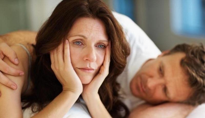 У женщины уменьшается желание близости