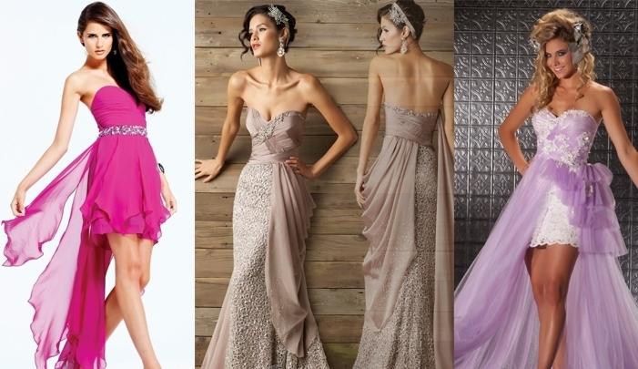 stilnoe-plate-transformer-s-otstegivayusheisya-yubkoi Платье трансформер: варианты вечерних платьев. Как сшить платье со съемной юбкой своими руками?