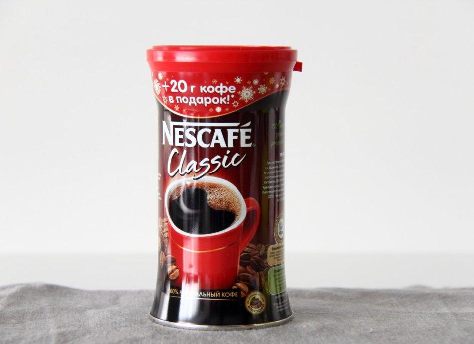 Рейтинг растворимого кофе: №6 nescafe
