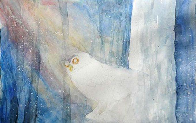 cd327b83347e900a9b7f84eb36fa3b52 Как рисовать сову карандашом поэтапно для начинающих и детей? Как рисовать по клеточкам сову, красками?