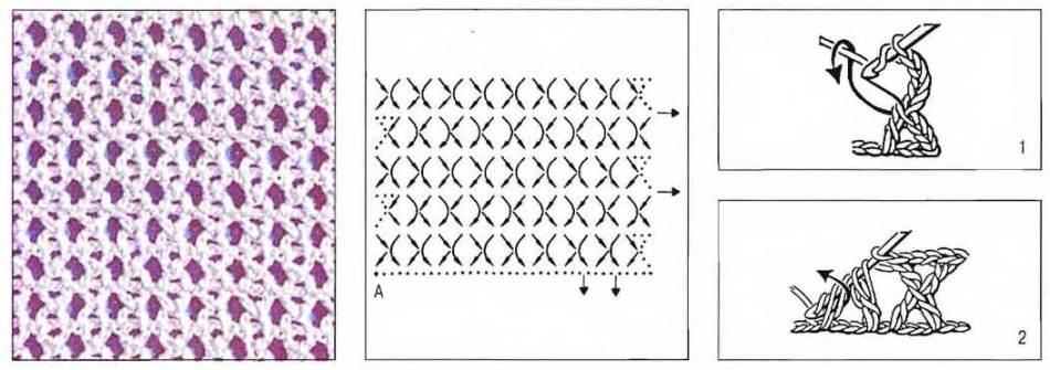 azhurnii-snud-kryuchkom-shema Красивый шарф снуд для девочки и мальчика крючком: схема вязания с описанием, размеры, узоры. Как связать детский снуд крючком с ушками, капюшон, ажурный, с шапкой?