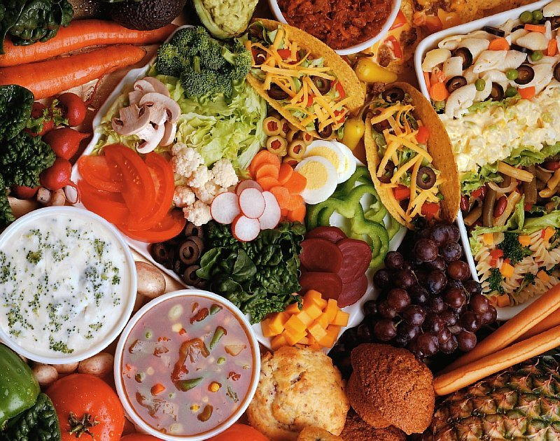 Овощи относятся к {amp}quot;медленным{amp}quot; углеводам