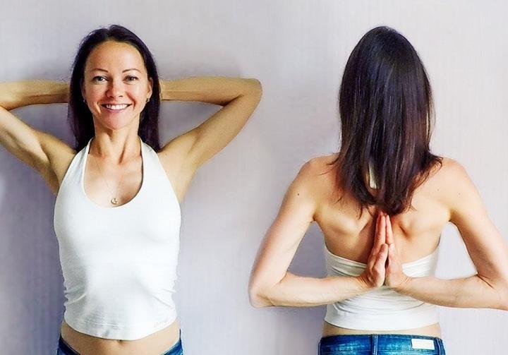 Упражнение. что не только поможет сохранить спину здоровой, но и определить искривления