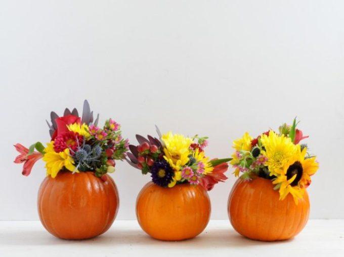 yarkaya-vaza Осенние поделки из тыквы своими руками: 12 красивых и оригинальных поделок из тыквы для детского сада и школы
