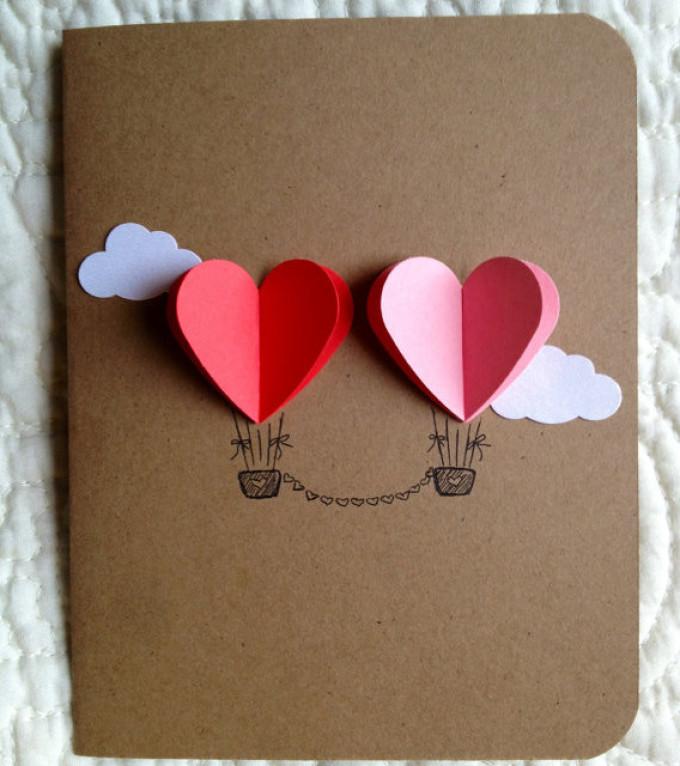 Идеи открыток ко дню влюбленных, девочка мишкой днем