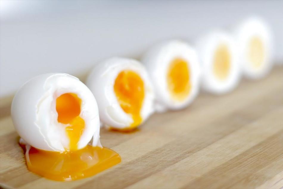 Перепелиные яйца всмятку