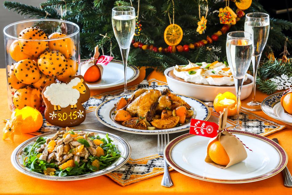 Новогодний-стол-2016-года-рецепты
