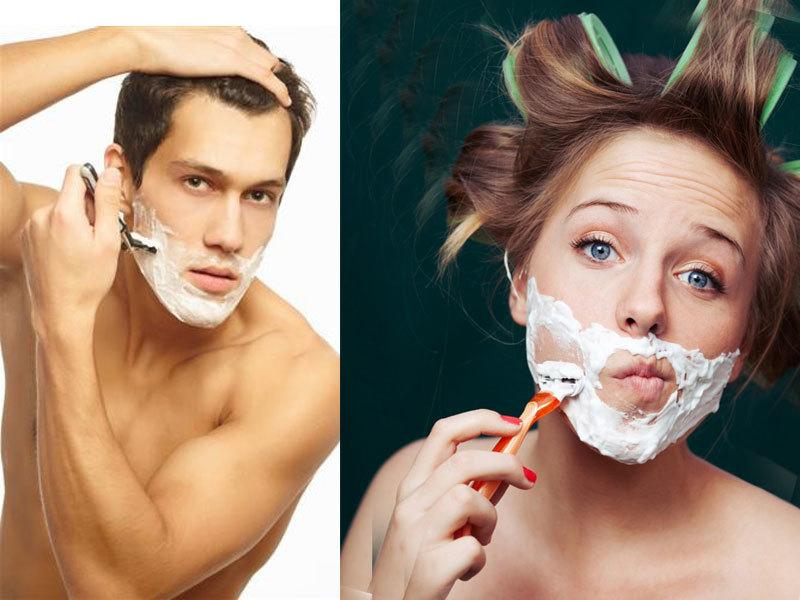 Если вы предпочитаете сбривать на лице лишнее, то не забудьте о том, что станок должен быть острым, а бритье не {amp}quot;на сухую{amp}quot;