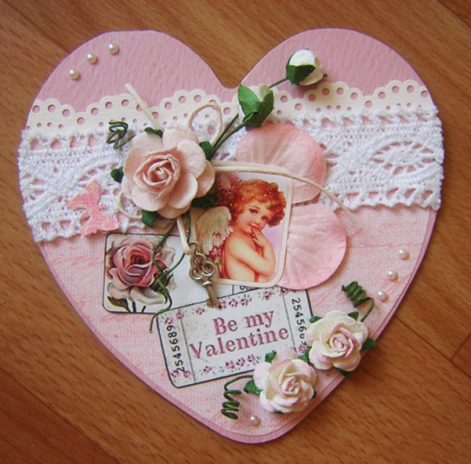 d04c9fb493ff9584ba47d2d52d4e59c5 Поделка — валентинка своими руками из бумаги, ткани: шаблоны, выкроки. Как сделать красивую валентинку своими руками маме, парню, в школу?