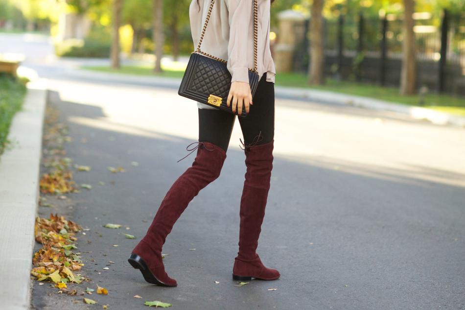 ботфорты без каблука с чем носить фото последнее время оригинальные