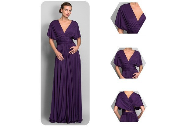 kak-zavyazivat-plate-transformer---shirokii-rukav Платье трансформер: варианты вечерних платьев. Как сшить платье со съемной юбкой своими руками?