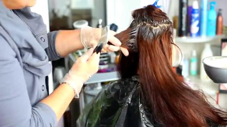 Окрашивание волос без аммиачной краской