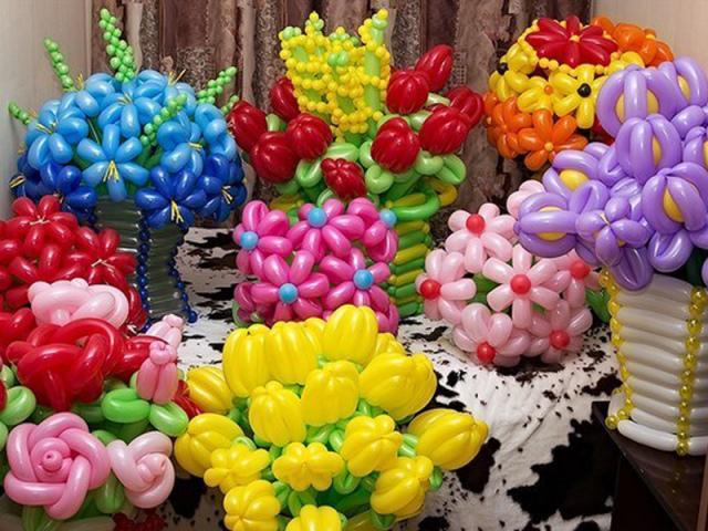 Фигурки из шариков своими руками фото 613