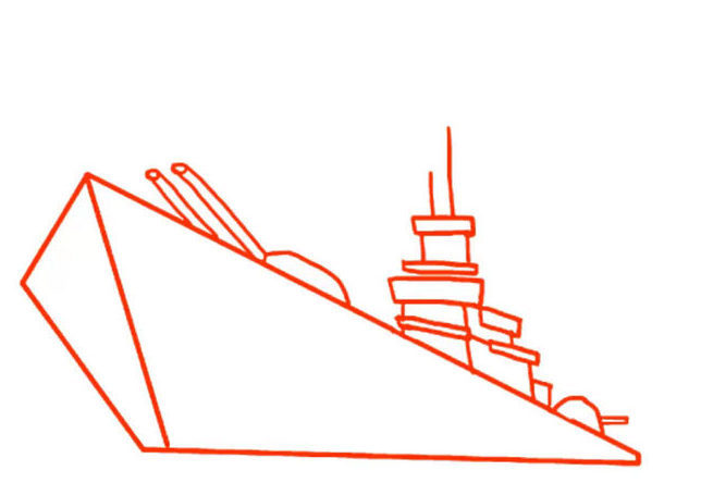 d20929746da48f9b1afd5c806458090e Как нарисовать праздничный Парад военных кораблей на Параде Победы? Как нарисовать военный корабль карандашом и красками для ребенка поэтапно?    Класс Рисуем корабль в рукодельной энциклопедии Pro100hobbi