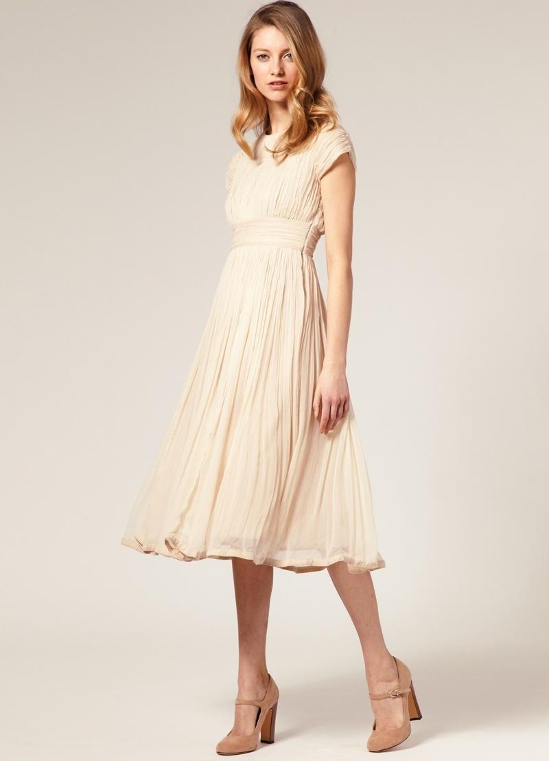Сшить простое платье пошагово
