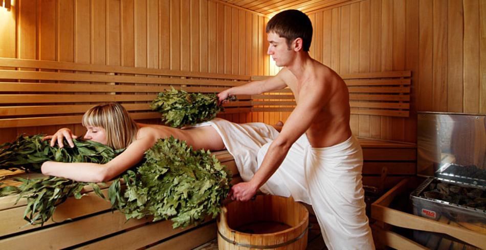 Лечение простуды в бане
