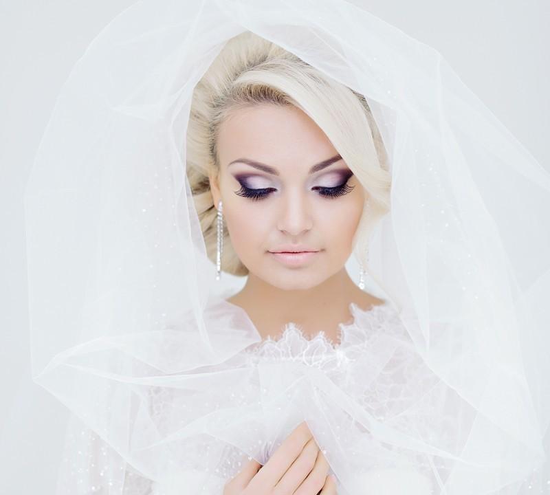 Свадебный макияж в стиле барби
