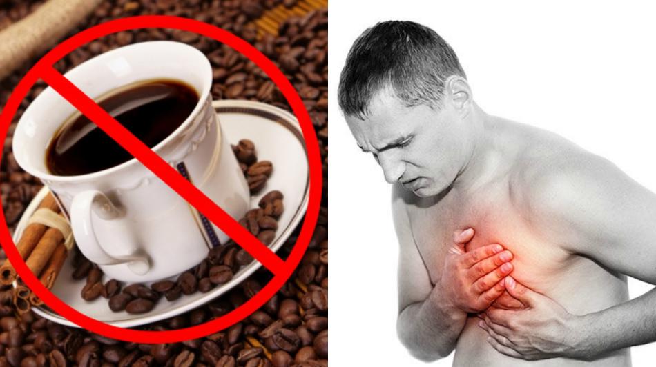 Чрезмерное употребление кофе вредит сердечно-сосудистой системе человека.