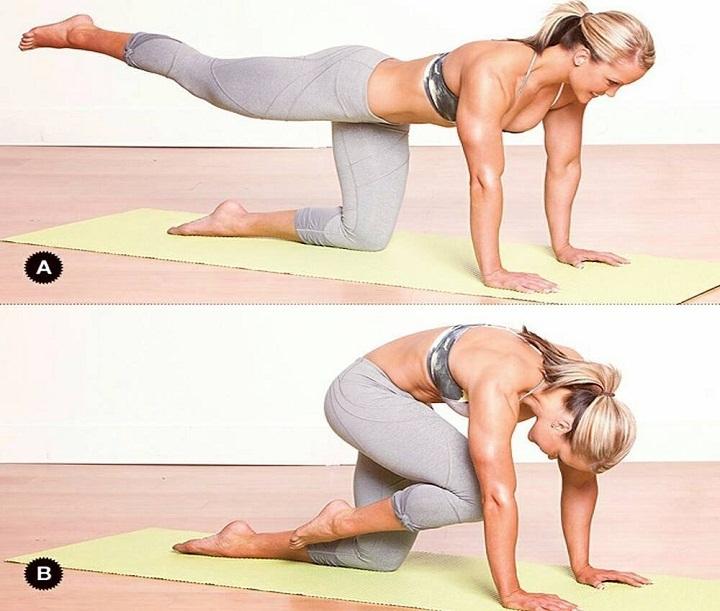 Напрягаем мышцы спины