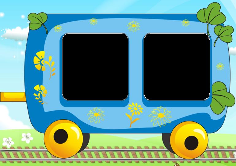 Картинка для детского сада паровозик