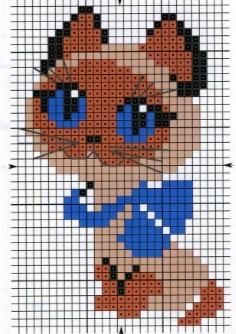 otlichno-podoidut-shemi-dlya-vishivki Как нарисовать котенка карандашом поэтапно для начинающих и детей? Как нарисовать котенка аниме с милыми глазками, мордочку котенка?