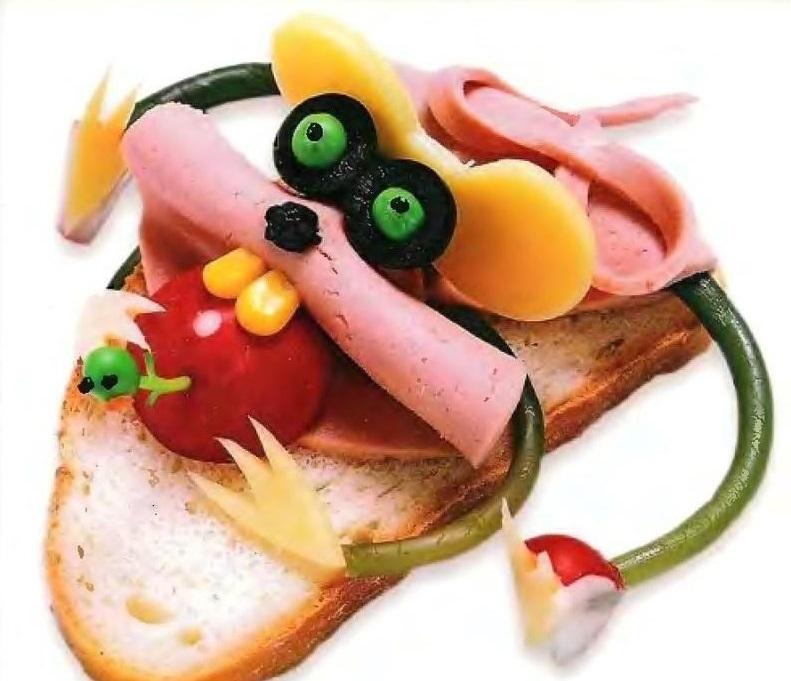 Картинки смешные бутерброды