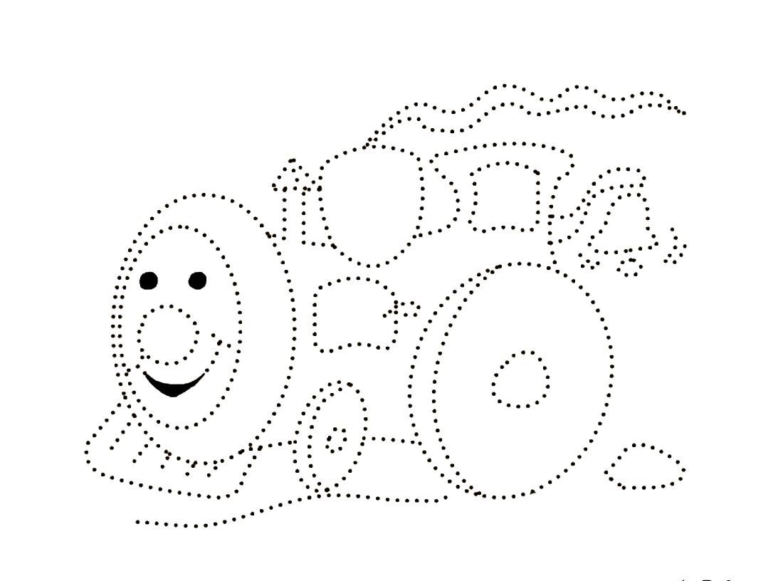 точечные картинки для рисования держим