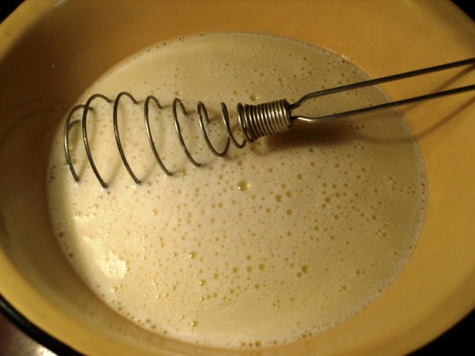 Приготовление кляра без яиц